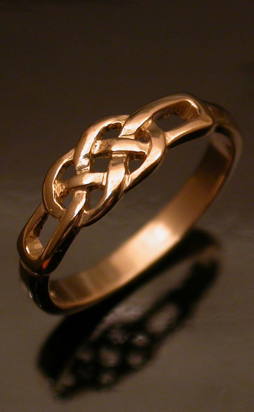 celtic love knot ring by scotweb