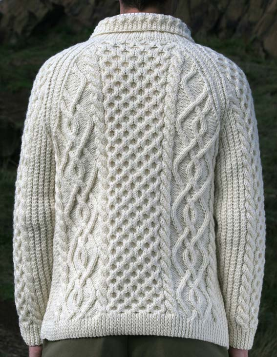 Knitting Patterns Aran Cardigan Mens : 1000+ images about Aran on Pinterest Cable, Wool and Two ...