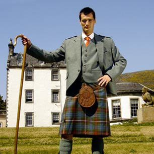 Kilt outfit packages