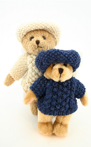 KNITTED TEDDY BEAR SWEATER PATTERN | 1000 Free Patterns