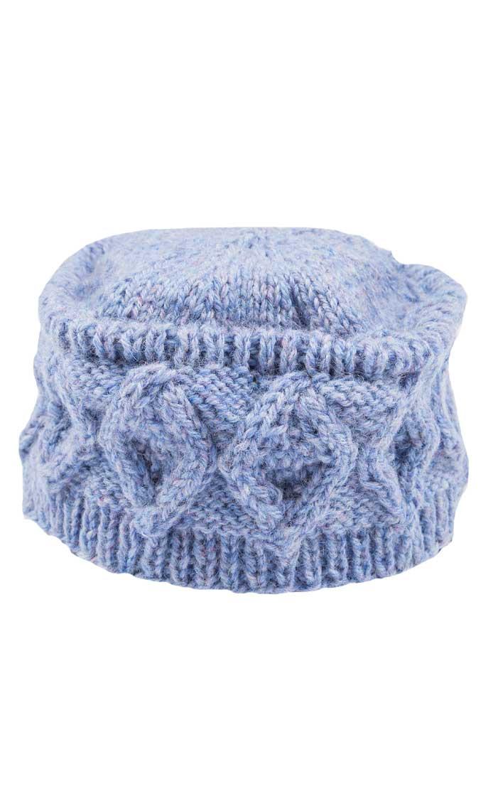 Knitting Pattern For Pillbox Hat : Colour: Bramble