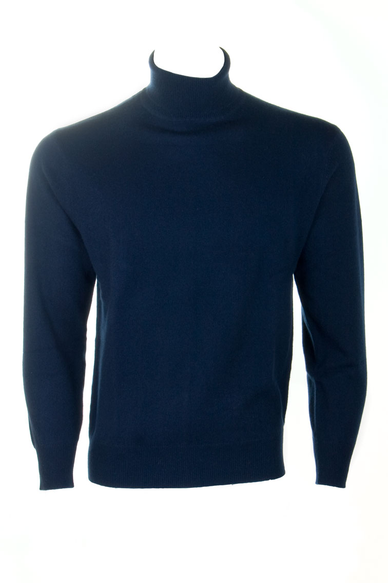 Cashmere Roll Neck Sweater by Scotweb