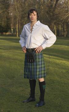 Highland Dress Blouse 55