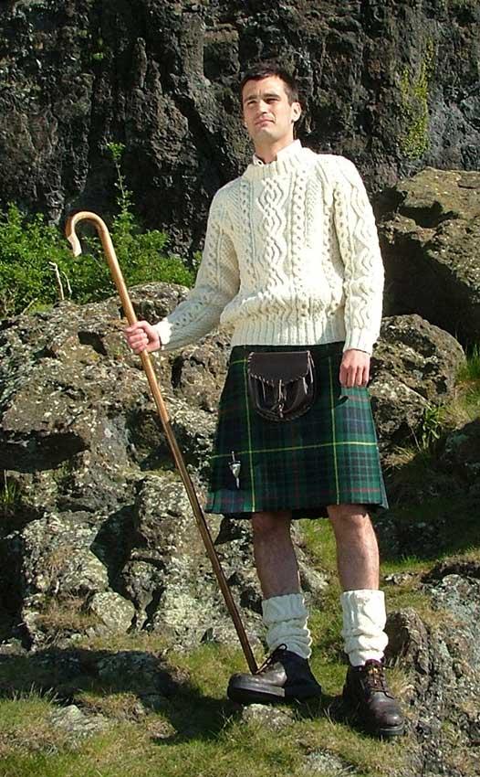 Bespoke Hiker Kilt Outfit