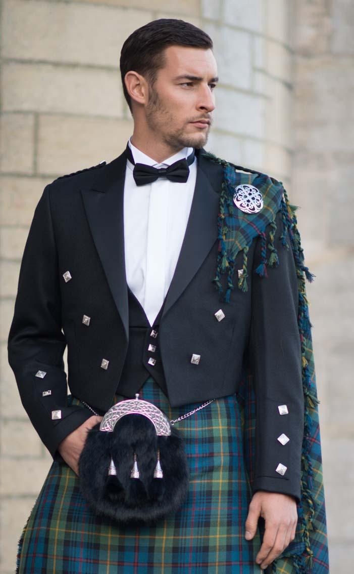Bespoke Prince Charlie Kilt Outfit