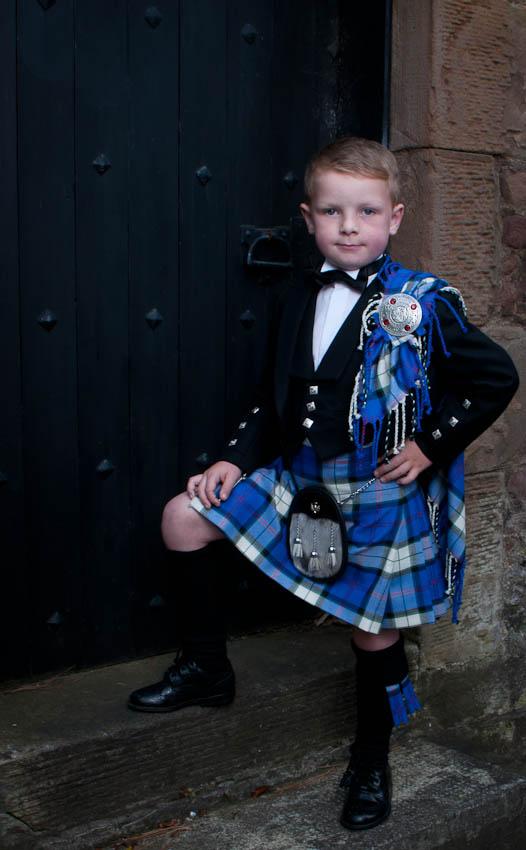 Boy's Prince Charlie Kilt Outfit