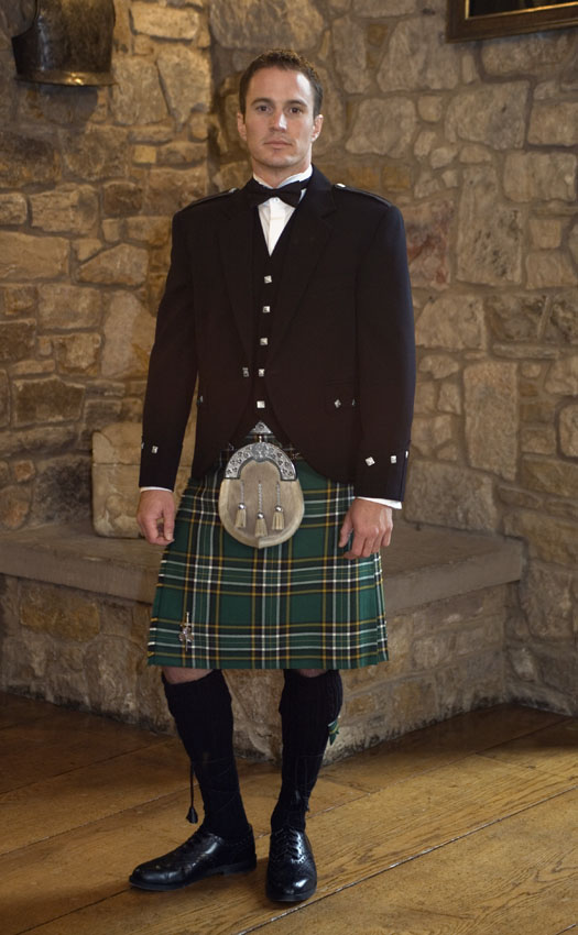 Argyll Irish Kilt Outfit