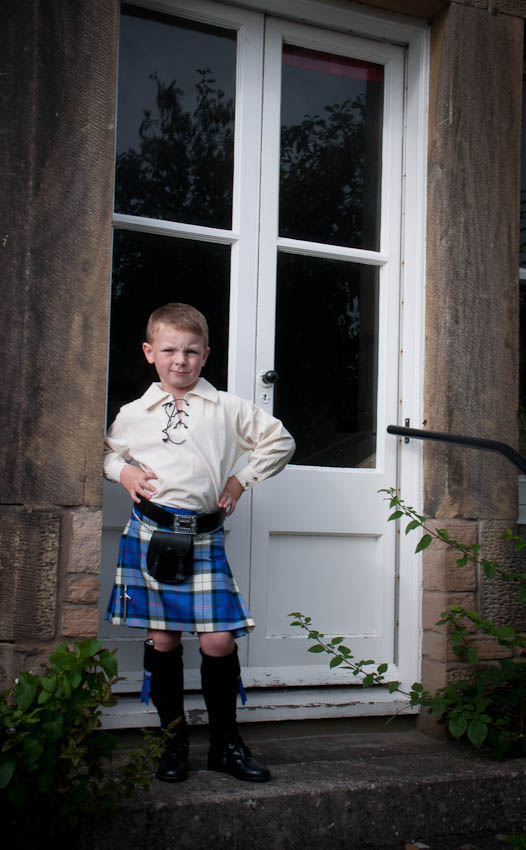 Boy's Jacobite Kilt Outfit