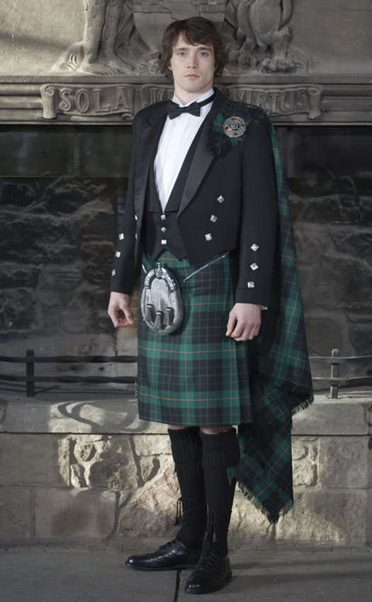 Classic Prince Charlie Kilt Outfit, with Luxury Clan Accessories