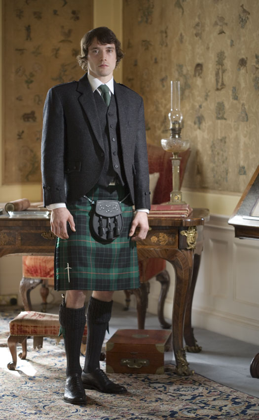 Classic Tweed Argyll Kilt Outfit, with Luxury accessories