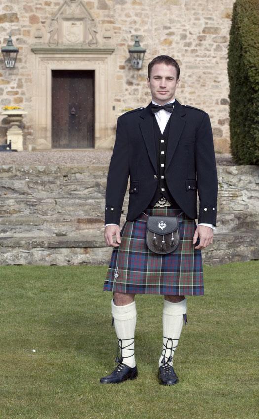 Classic Argyll Kilt Outfit