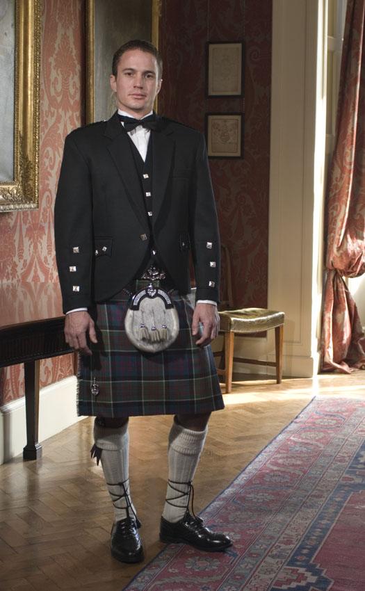 Classic Braemar Kilt Outfit