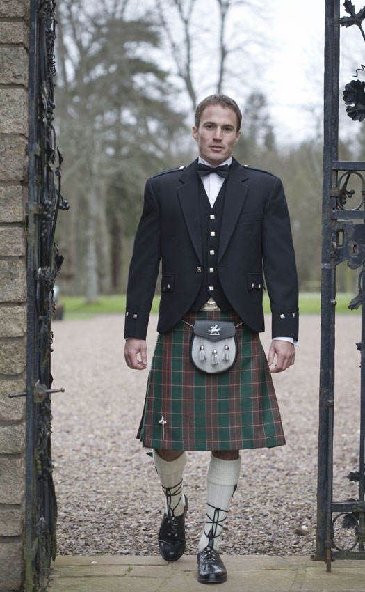 Argyll Welsh Kilt Outfit