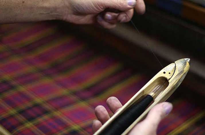 Any tartan woven to order