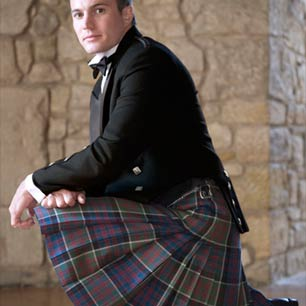 The Balmoral Eight Yard Traditional tartan kilt