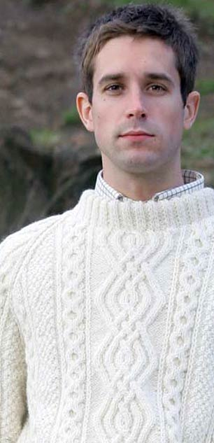 aran sweaters for men