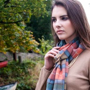 Tartan and plaid scarves