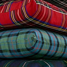 cushions and soft furnishings in your own plaid