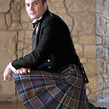 Kilt outfit packages in your own plaid