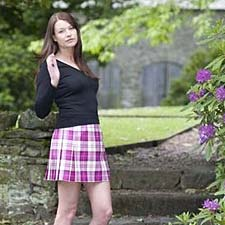 tartan ladies wear in your own plaid
