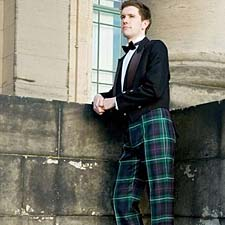 tartan trousers and trews in your own plaid