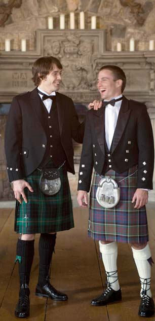 kilt outfits for bridegroom and best man