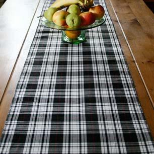 tartan tablewares