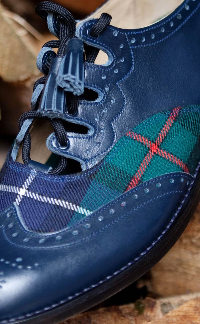 Tartan Ghillie Brogues By Scotweb