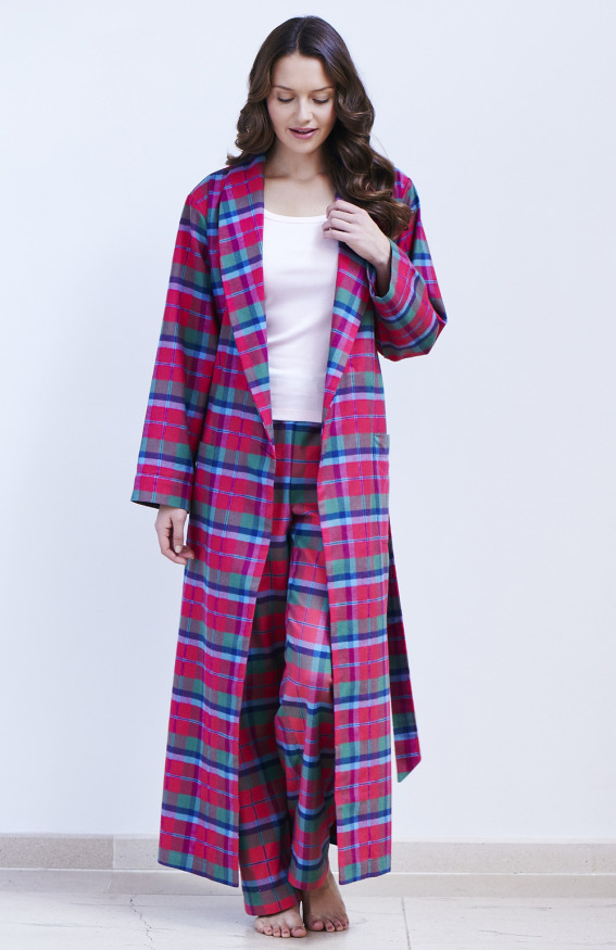 Ladies Tartan Dressing Gown - Home Decorating Ideas & Interior Design