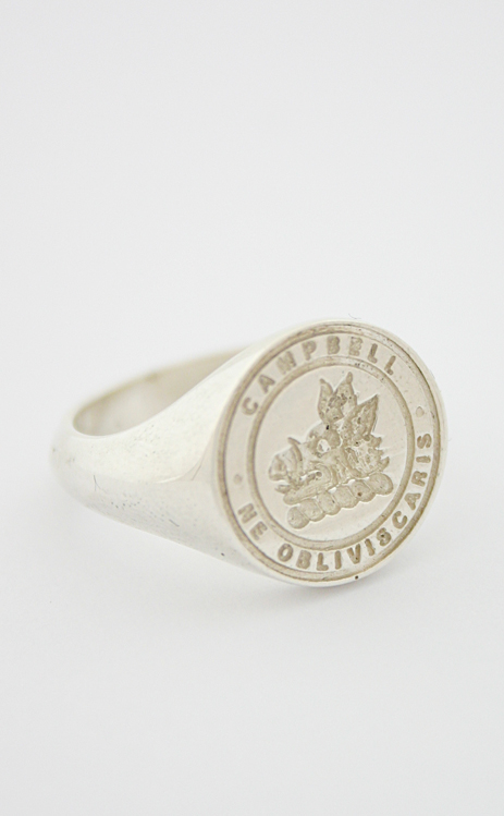 Cameron Clan Crest Ring