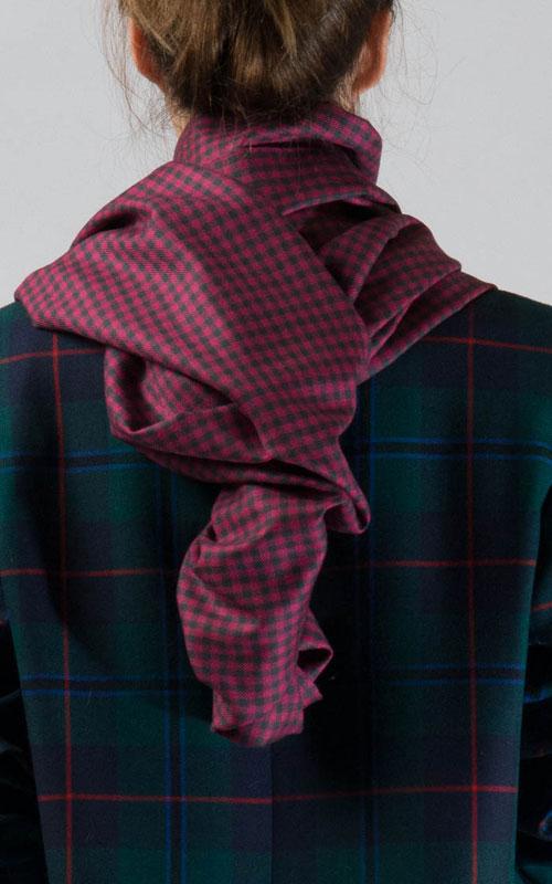 Colour: Kestrel Grey and Raspberry
