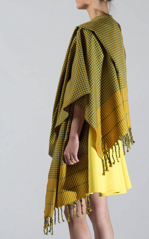 Colour: Verdigris and Sunflower