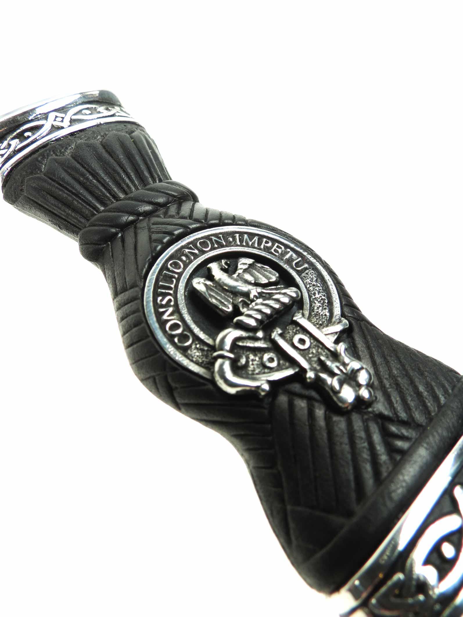 34f86d18dafca Classic Clan Crest Sgian Dubh by Scotweb