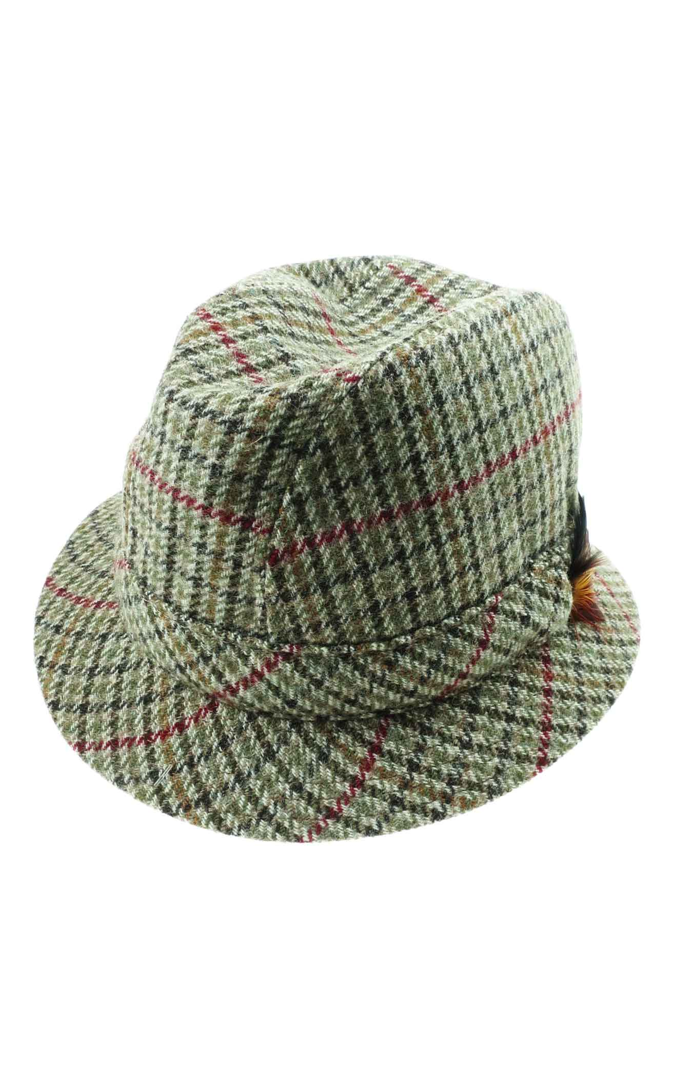 Tweed Trilby Hat by Scotweb 17cfd452d7a3