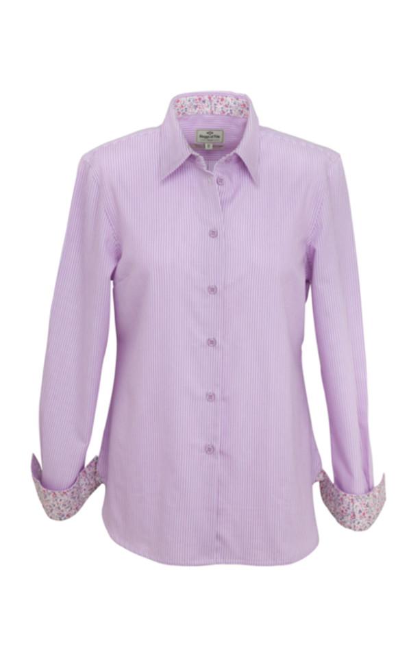 Colour: Bonnie - Lavender Stripe