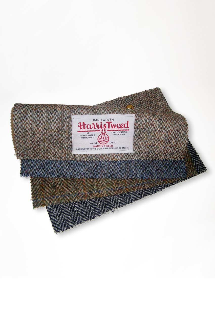 Harris tweed fabric by scotweb for Fabrics and materials