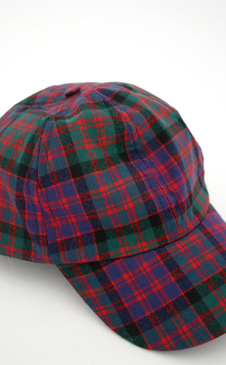 c1cb9d3a2 Gents All Over Worsted Wool Tartan Baseball Cap by Scotweb