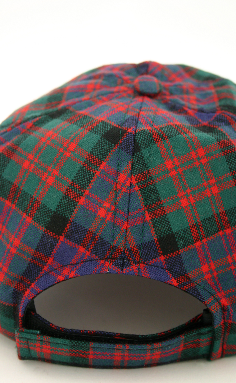 f7892d067 Ladies All Over Worsted Wool Tartan Baseball Cap by Scotweb