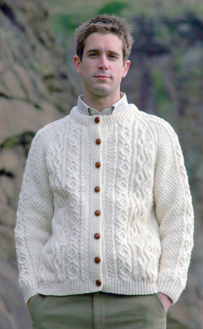 53eaed9e8 Free Knitting Pattern For Mens Aran Cardigan ~ Ipaa.info for .