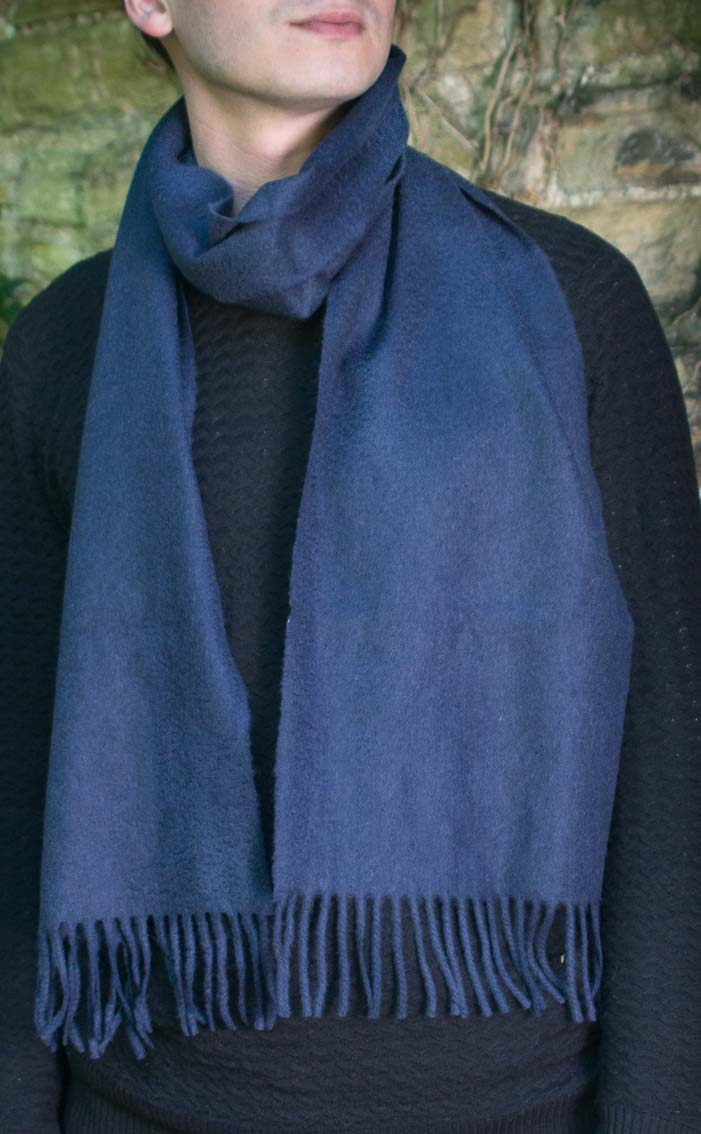 Gents Classic Scottish Cashmere Scarf By Scotweb