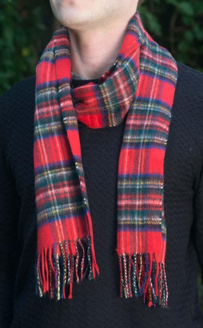 16aef381736 Scottish Cashmere Tartan Scarf by Scotweb
