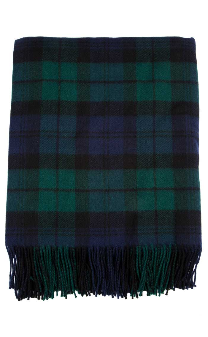Lambswool Tartan Rug By Scotweb
