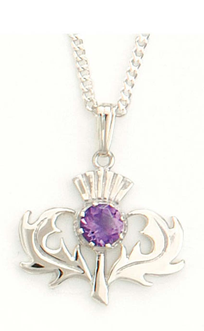 Scottish thistle pendant cp6 by scotweb aloadofball Images