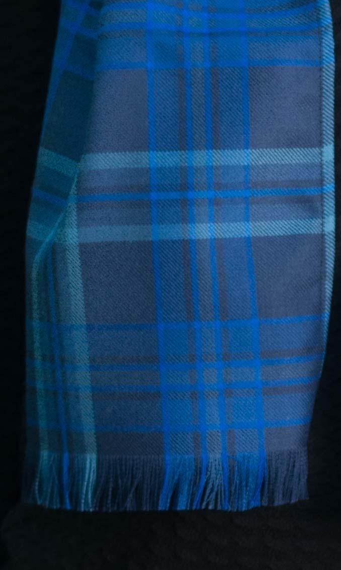 Luxury Fine Wool Tartan Scarf by Scotweb