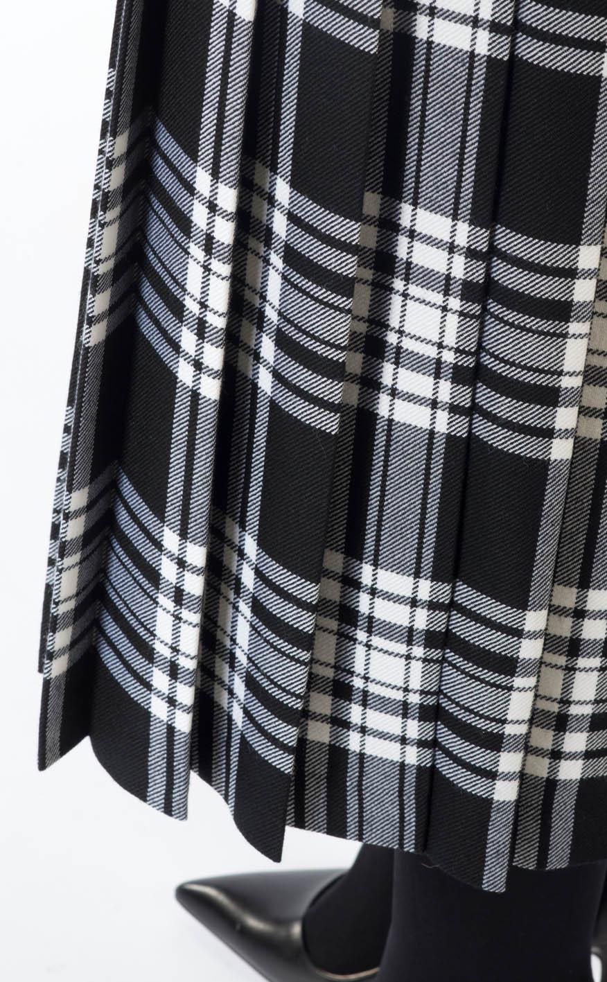 8b109c80ff6ddd All-round Pleated Skirt, tartan by Scotweb