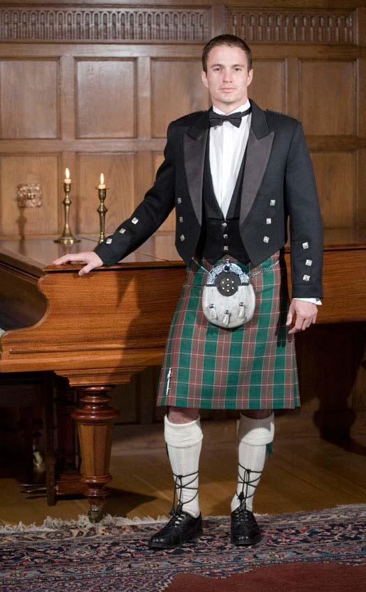 Prince Charlie Welsh Kilt Outfit