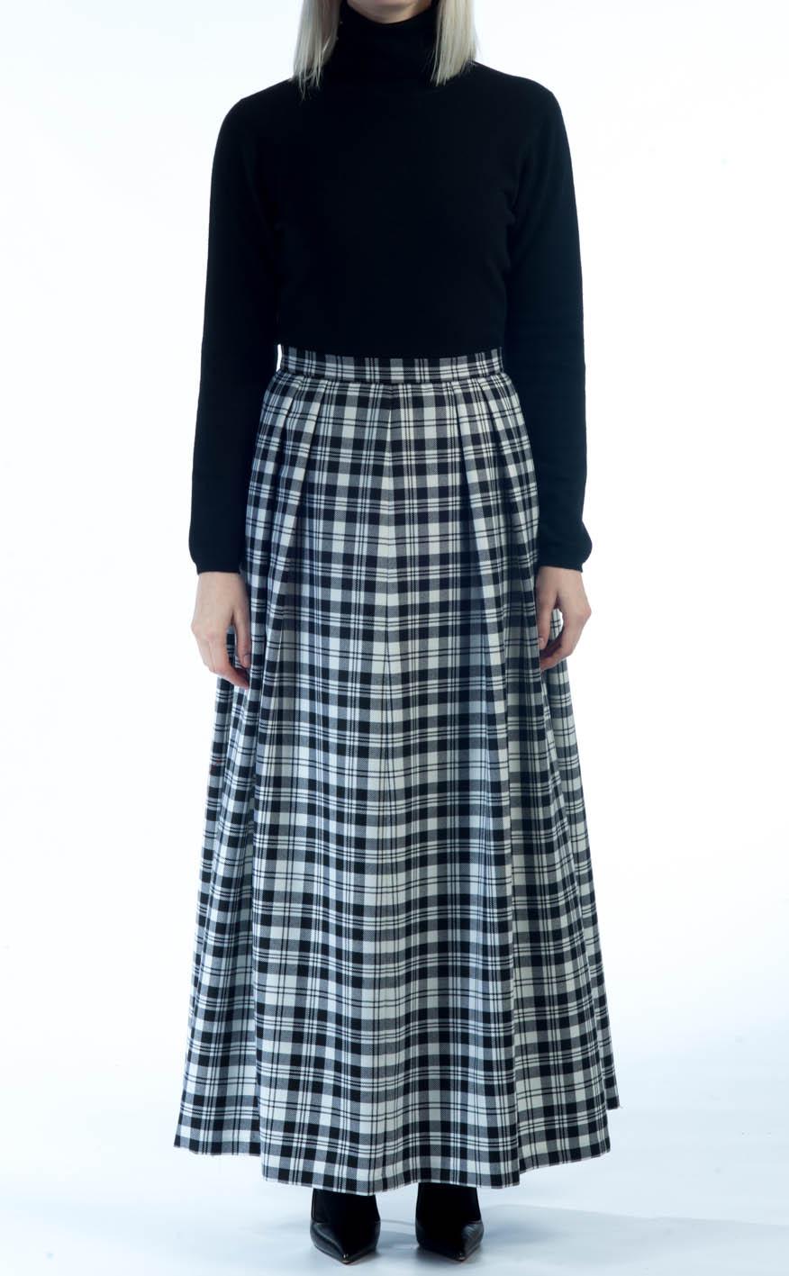 3429b3cd3 Soft Pleat Skirt, tartan by Scotweb