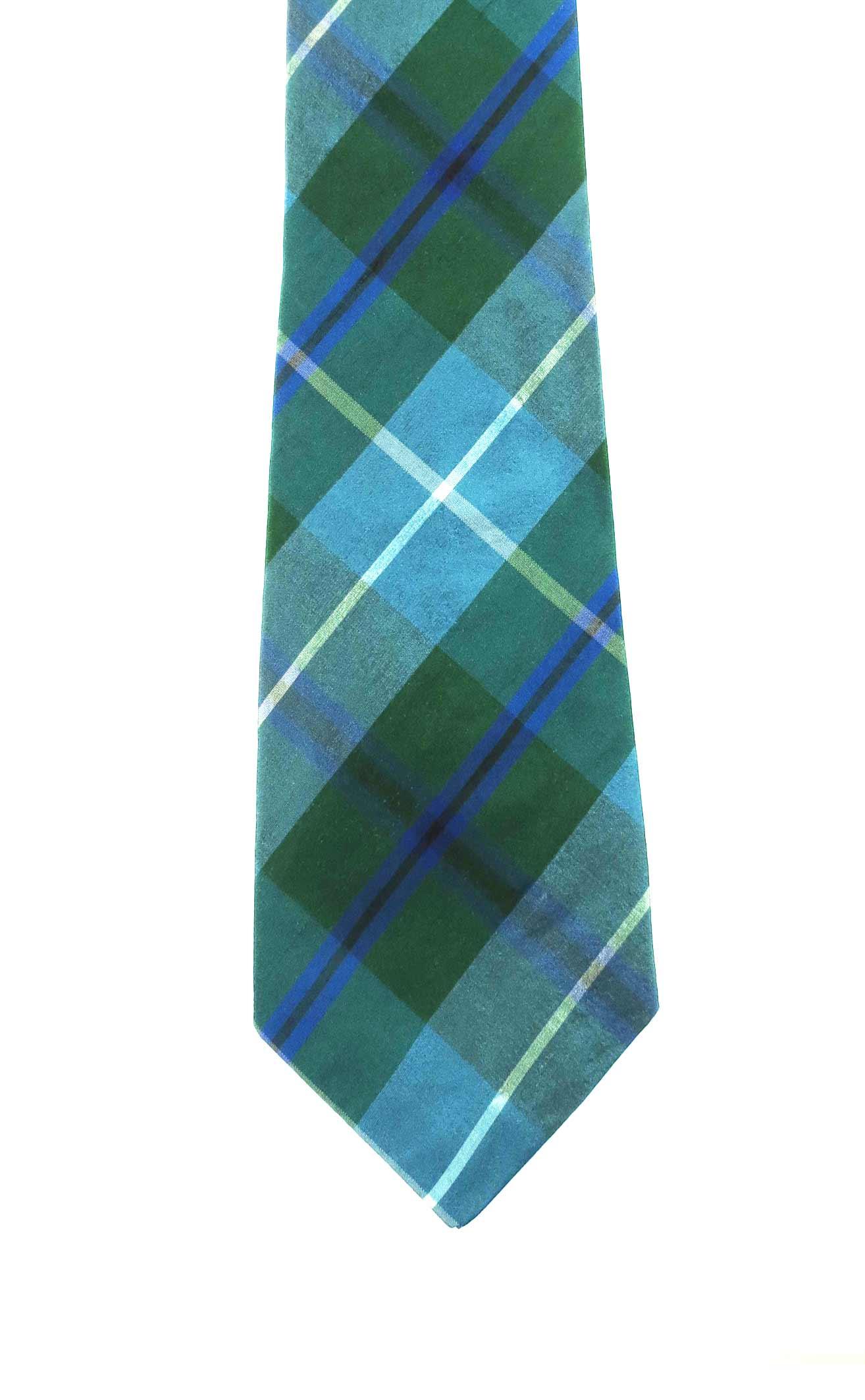 silk tartan tie by scotweb