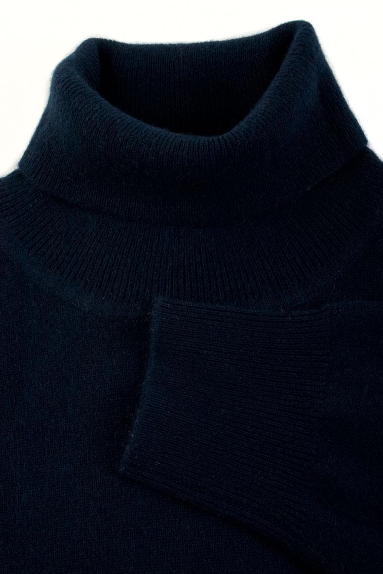 Mens Black Cashmere Sweater