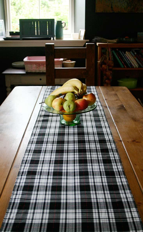 Tartan Table Runner By Scotweb